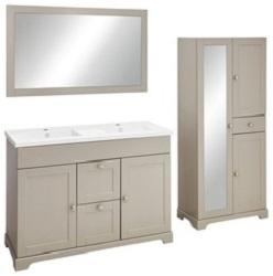 meuble de salle de bain de brico d p t notre test petite salle de bain. Black Bedroom Furniture Sets. Home Design Ideas
