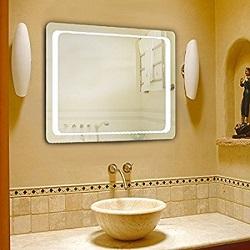 le miroir de salle de bain led Homcom