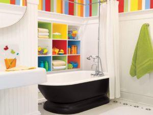 comment décorer une salle de bain pour enfant