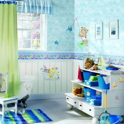 décorer une salle de bain pour enfant