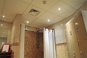 faux plafonds salle de bain - Plafond De Salle De Bain