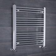 le radiateur sèche-serviette à eau chaude WarmerHaus 258W - 800 x 500mm