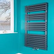 le radiateur s che serviette eau chaude warmerhaus 895 w 1450 x 600 petite salle de bain. Black Bedroom Furniture Sets. Home Design Ideas