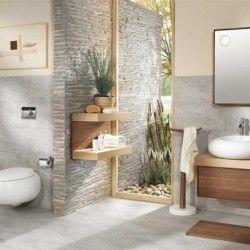 les meubles de salle de bain et les dispositifs sanitaires zen