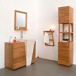 la bonne taille de colonne de salle de bain
