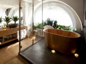 comme faire une salle de bain japonaise