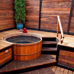 comme faire une salle de bain japonaise petite salle. Black Bedroom Furniture Sets. Home Design Ideas