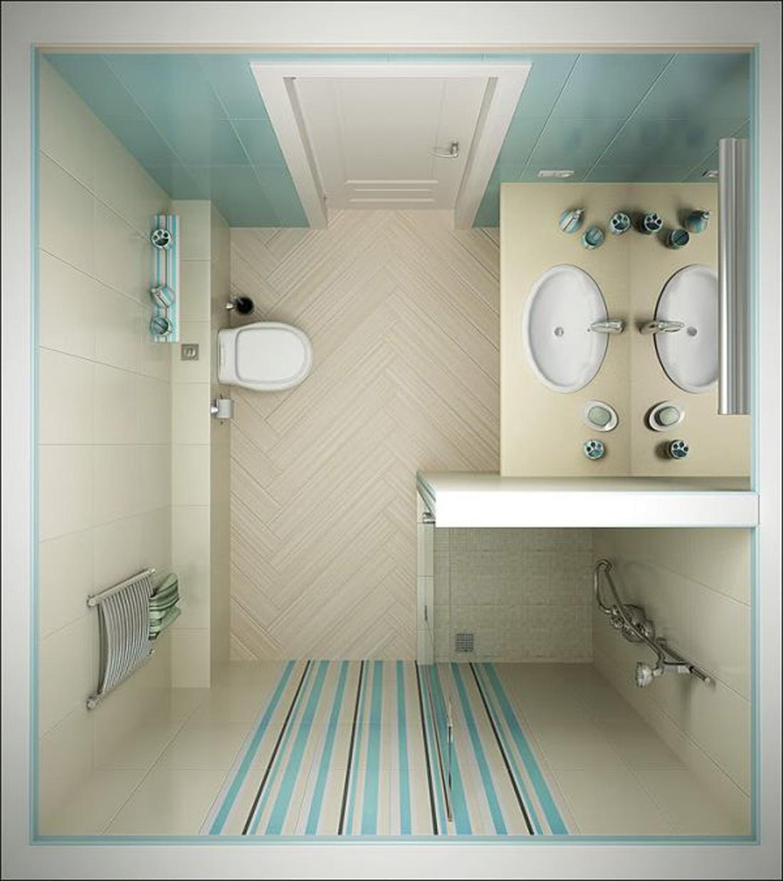 Comment rendre sa salle de bain pratique petite salle - Comment faire sa salle de bain ...