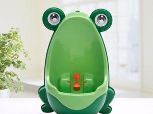 les urinoirs grenouilles pour enfant