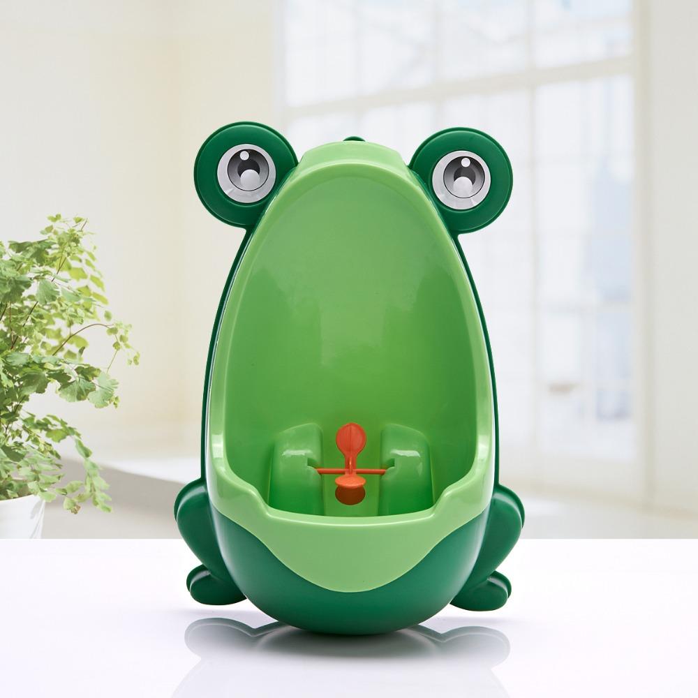 les urinoirs grenouilles pour enfant petite salle de bain. Black Bedroom Furniture Sets. Home Design Ideas