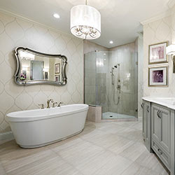 élcairer une salle de bain