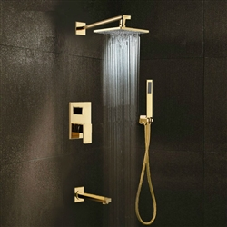 douche encastrable colonne de douche encastrable plafond de douche ciel de pluie 50x50 cm. Black Bedroom Furniture Sets. Home Design Ideas