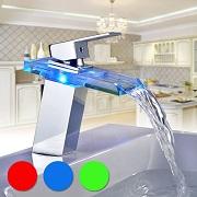 robinet de lavabo LED Auralum
