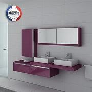 Meuble double vasque DIS9551 Distribain
