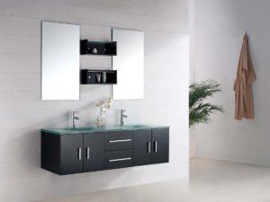 comment installer un meuble de salle de bain suspendu soi-même