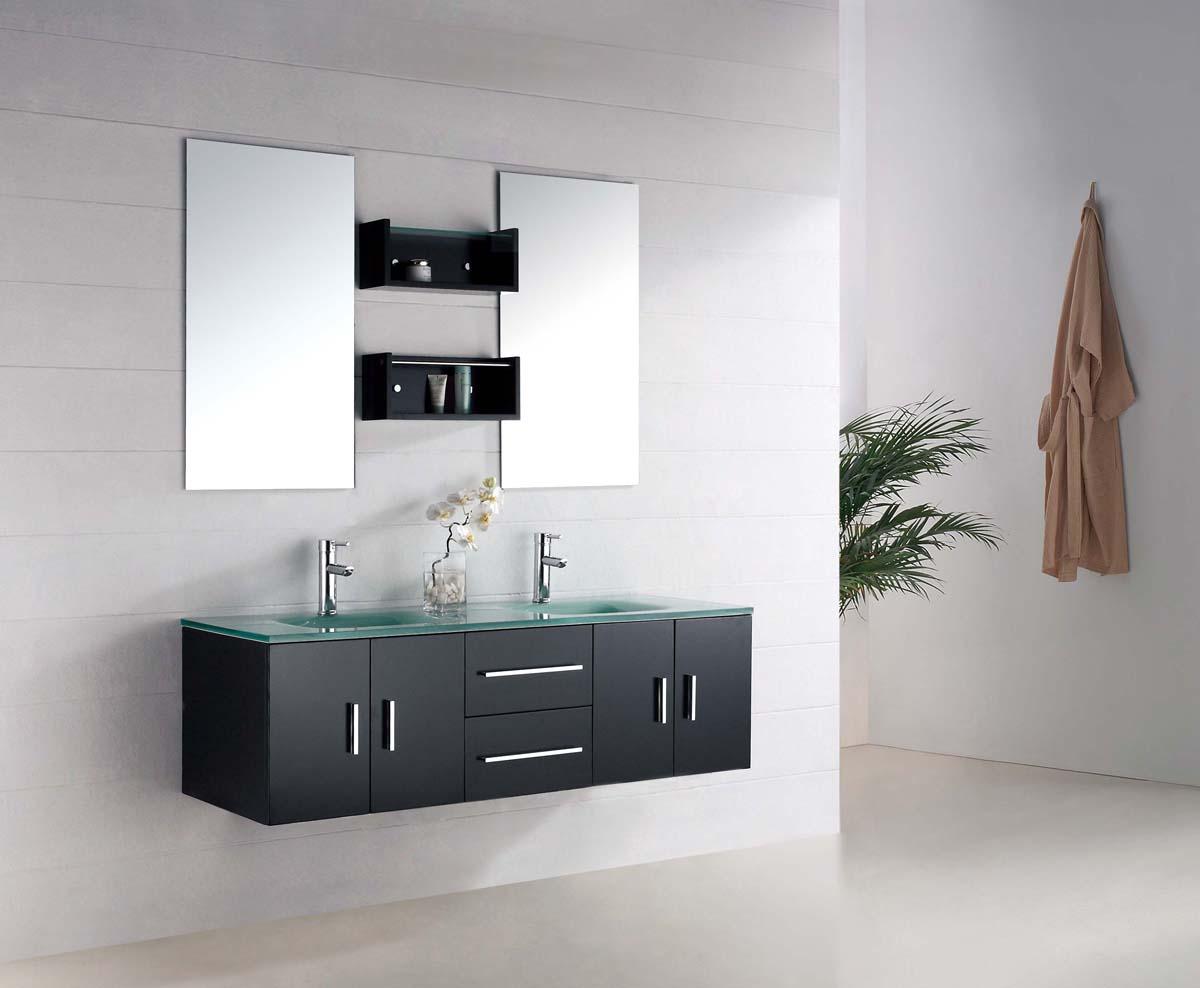 Comment installer un meuble de salle de bain suspendu soi - Comment installer un lavabo de salle de bain ...