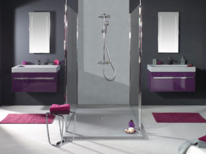 meuble de salle de bain aubergine - les 8 plus beaux