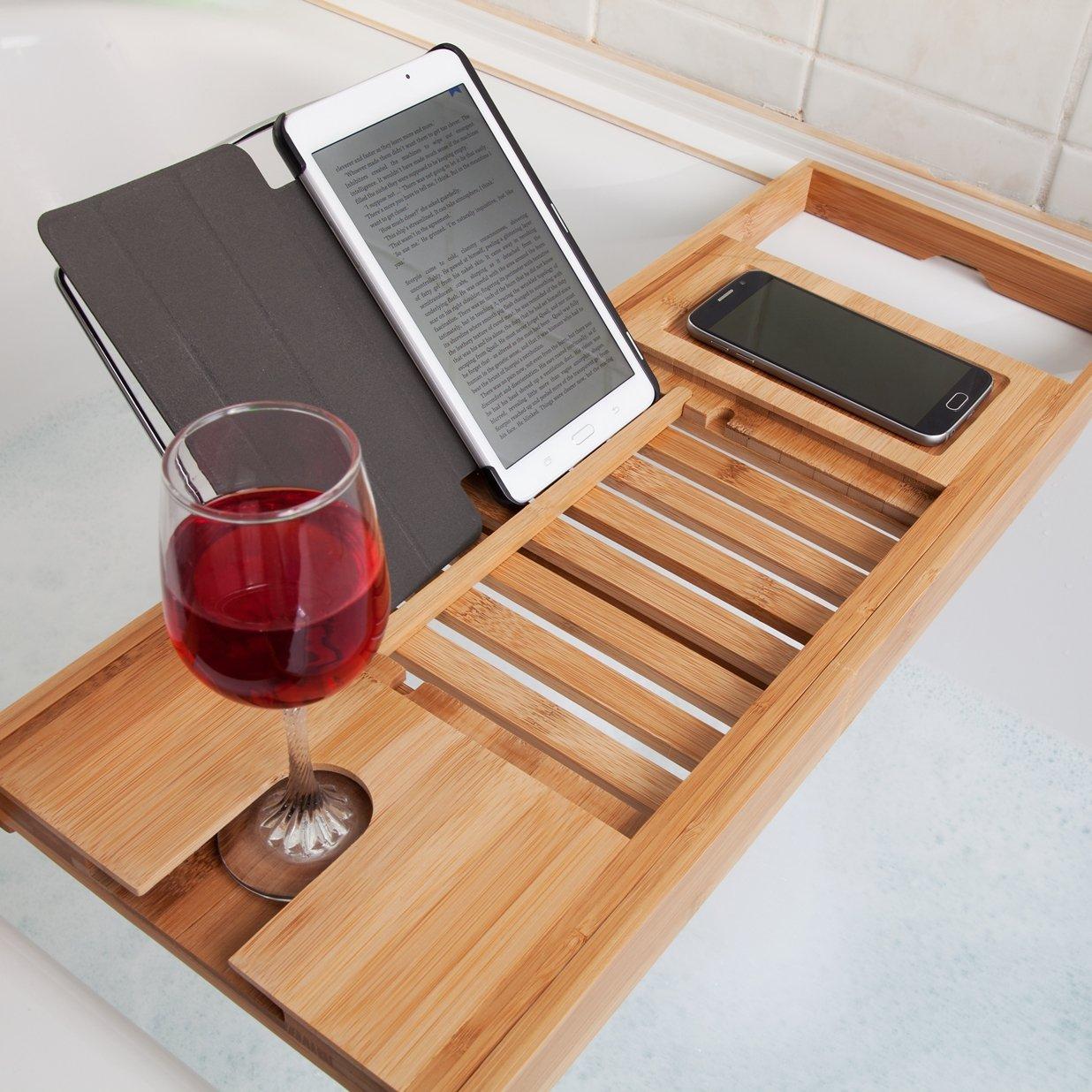 pont de baignoire bois et bambou test avis et prix petite salle de bain. Black Bedroom Furniture Sets. Home Design Ideas