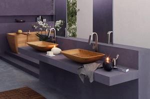 Comment intégrer le bois dans une salle de bain
