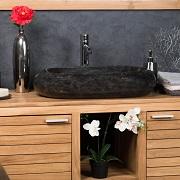 Grande vasque en marbre à poser MURANO Wanda Collection