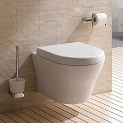 installer wc suspendu