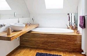Salle de bain en bois : quels sont les avantages ? - Petite salle de ...