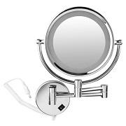 Miroir Mural LED Grossissant X10 Générique