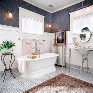 La salle de bain doit rester une salle de détente glamour