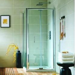 Les dimensions d'une paroi de douche coulissante