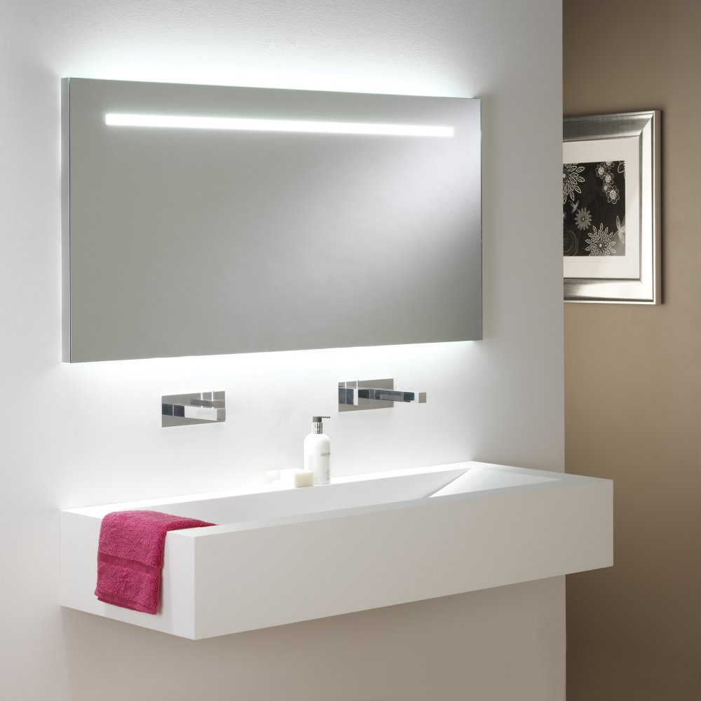 Salle De Bain Vieux Rose ~ Quelle Taille De Miroir Led Faut Il Prendre Pour Sa Salle De Bain